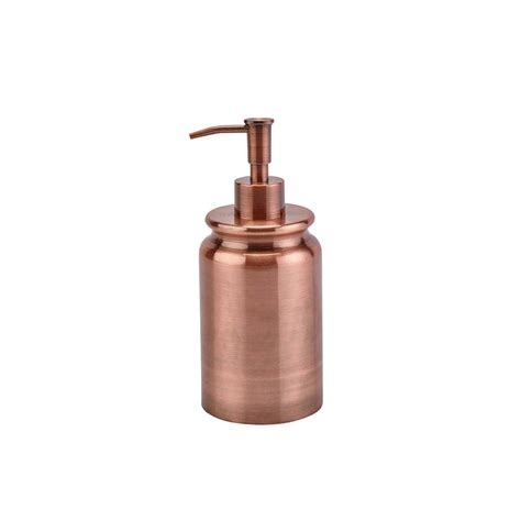 soap dispensers for bathrooms buy aquanova cobre soap dispenser copper amara