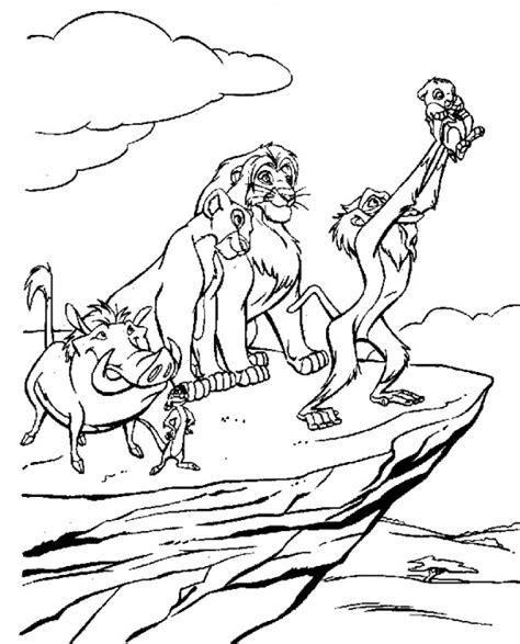 free printable coloring pages for lion king lion king printable coloring pages