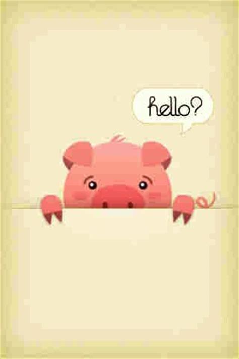 wallpaper iphone 5 piglet pig lock screen wallpaper iphone pinterest 그림