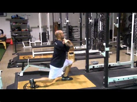 Front Rack Lunges by Barbell Forward Lunge Bar In Front Rack