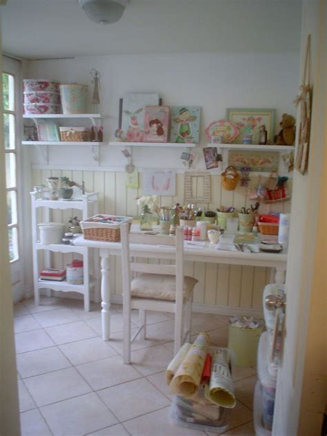 133 Best Images About Shabby Chic Sewing Room Craft Room Shabby Chic Sewing Room