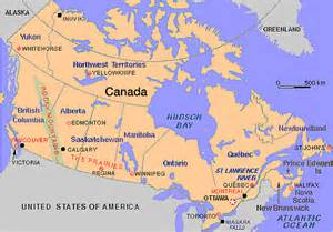 map of us and canada east coast