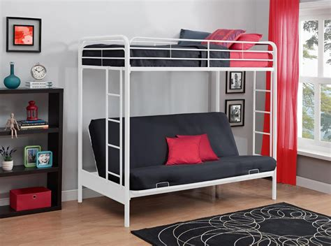 Loft Bed With Sofa Total Fab Metal Wood Loft Beds With Sofa Underneath