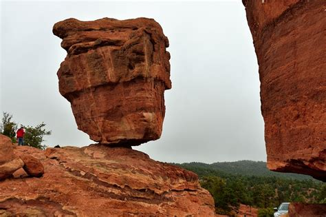 Balanced Rock Garden Of The Gods Panoramio Photo Of Balanced Rock In Garden Of The Gods Colorado