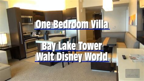 one bedroom villa bay lake tower bay lake tower one bedroom villa magic kingdom disney