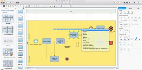 how to draw business process diagram business process diagram solution conceptdraw