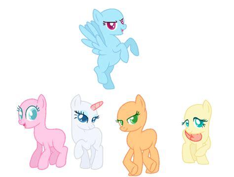 Five Ponies Mlp Base | mlp base 5 by jen bases on deviantart