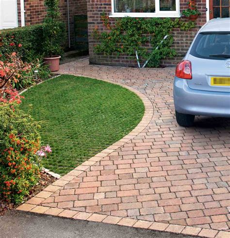 block paving patio drivesett tegula priora permeable block paving marshalls