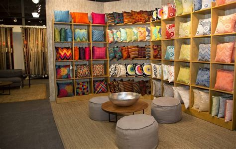 the pillow wall at the high point jaipur showroom