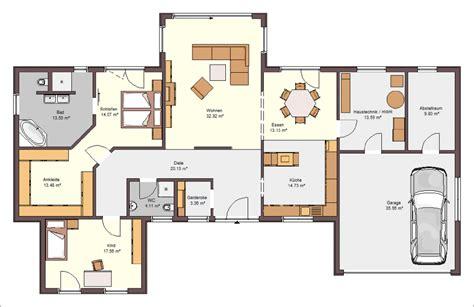 grundriss bungalow mit integrierter garage innenarchitektur die unglaublich grundriss bungalow mit