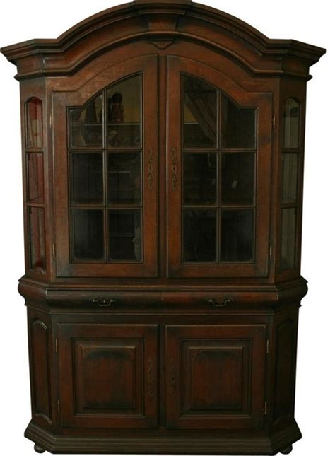 china cabinet in spanish massive spanish mission oak display cabinet craftsman