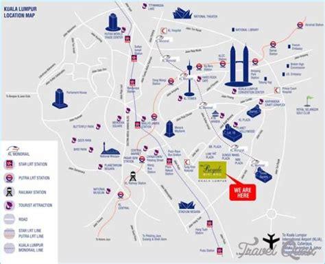 kuala lumpur map tourist attractions kuala lumpur map tourist attractions travelquaz