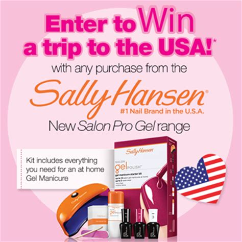 Priceline Com Gift Card - priceline sally hansen win trip to usa 5 000 fli australian competitions