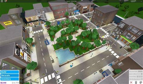 bloxburg brick town city layout house plans