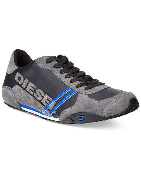 diesel sneakers diesel harold solar sneakers in black for lyst