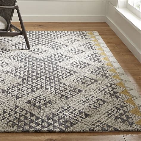 wool rug thea wool rug crate and barrel