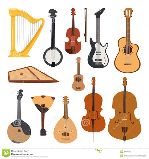 imagenes de orquestas musicales ukulele cartoons illustrations vector stock images
