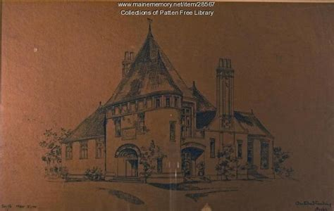 patten free library maine architectural rendering of patten free library bath ca