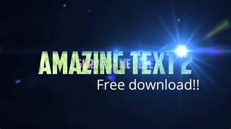 after effects free intro template project file download summer free after effects project file intro template