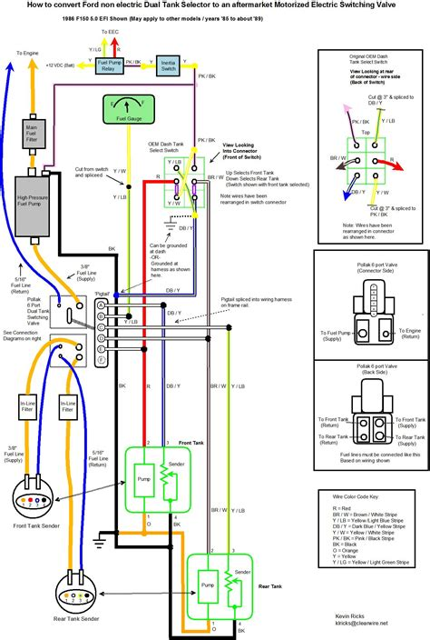 1989 ford f150 ignition switch wiring diagram circuit