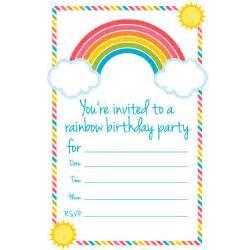 throw a rainbow birthday party allyou com