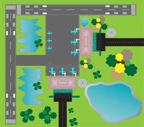 best airport layout design airport layout top view twin runway parking taxiway and