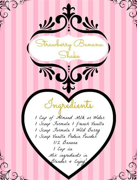 Herbalife Shake Strawberry herbalife strawberry bannana shake herbalife