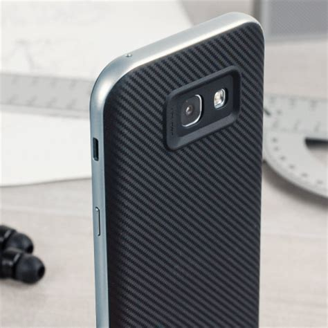 Samsung Galaxy A5 2017 Premium Carbon Fiber Skins olixar x duo samsung galaxy a5 2017 carbon fibre metallic grey mobilezap australia