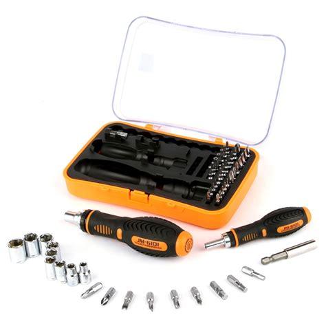 Jakemy 53 In 1 Household Ratchet Home Tool Kit Jm 6101 jakemy jm 6101 53 in 1 labor saving ratchet screwdriver repair tool set alex nld