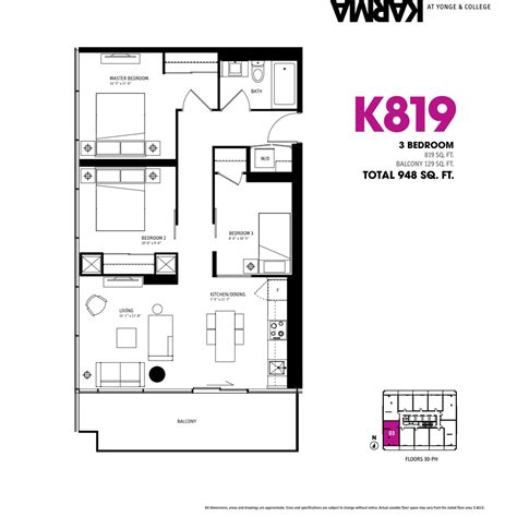 floor plan condo 3 bedroom condo floor plan photos and video
