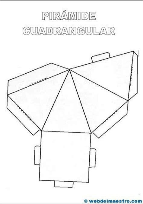 figuras geometricas rectangulo para armar m 225 s de 25 ideas fant 225 sticas sobre cuerpos geometricos para