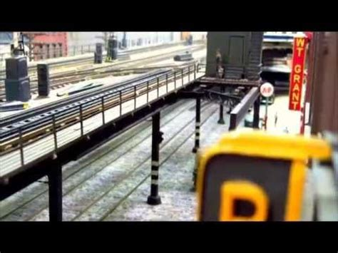 my o scale irt el mudc local passes switch tower youtube