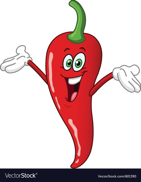 funny hot pepper images chili pepper cartoon royalty free vector image