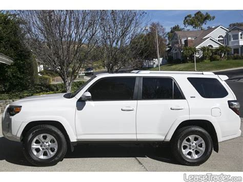 Toyota Leases 2015 Toyota 4runner Sr5 Lease Lease A Toyota 4runner For