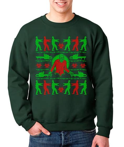 zombie christmas sweater horror sweaters to get you through the season horror news and reviews