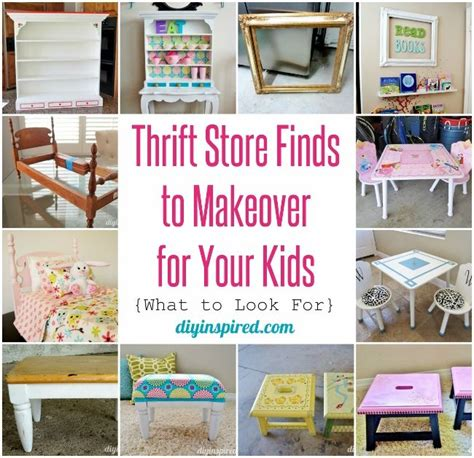 thrift store finds to makeover for your including