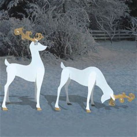 pattern for white wooden reindeer plywood reindeer cutouts woodworking projects plans
