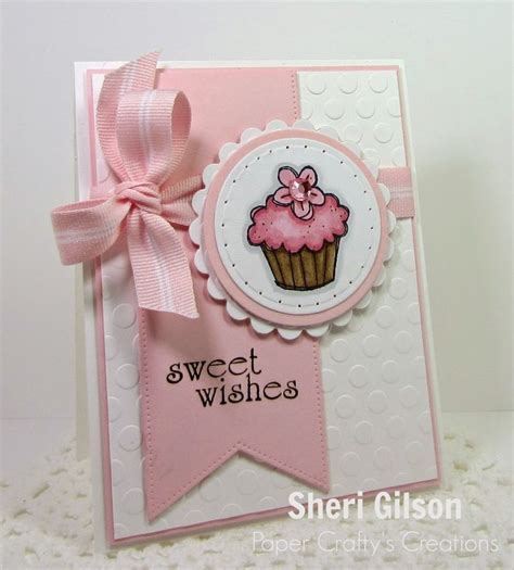 Handmade Cupcake Cards - 25 best ideas about cupcake card on paper