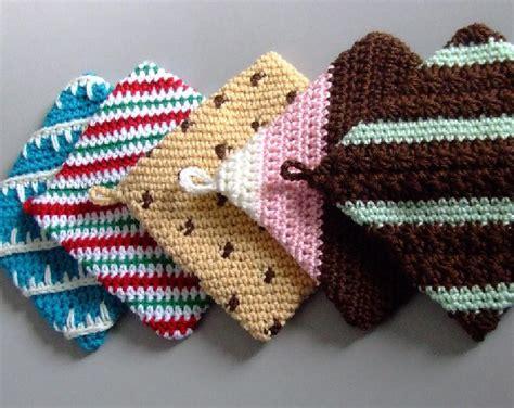 christmas tree hot pad pattern free crochet patterns christmas hotpads dancox for