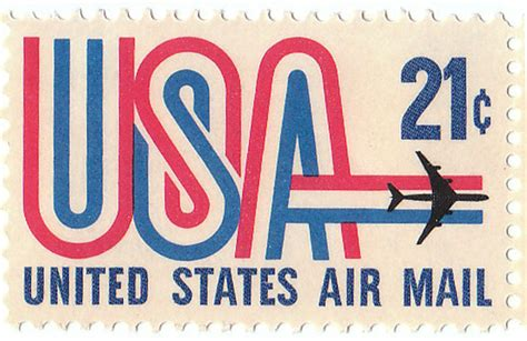 state email united states air mail 21 cent st usa airmail 21 cent