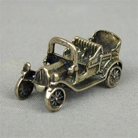 vintage peugeot car vintage peugeot sterling silver car charm pendant from
