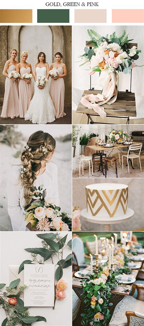 top 10 gold wedding color ideas for 2019 trends oh best day