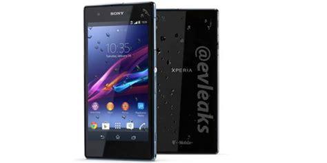 Hp Sony Xperia Z1s sony xperia z1s terkuak spesifikasi resminya katalog