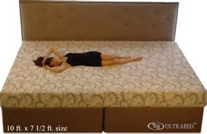 How Large Is A Size Bed by Ultra King Size Mattresses