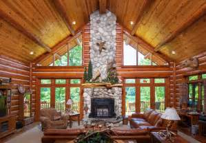 Chalet Style Living Rooms With Fireplaces Chalet Style Living Room Chalet Style Log Homes Mexzhouse