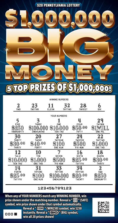 Free Online Scratch Off Tickets Win Real Money - pa lottery instant games remaining prizes gamesworld