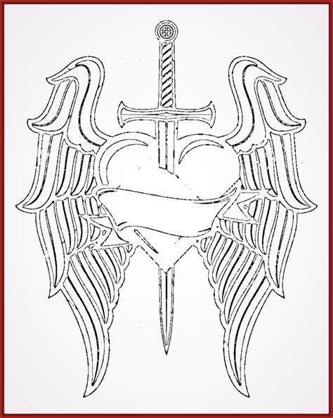 imagenes de corazones con alas y espinas imagenes de corazones con alas y espinas y frases dibujo