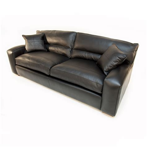 duresta upholstery duresta upholstery grand panther sofa in nero black leather