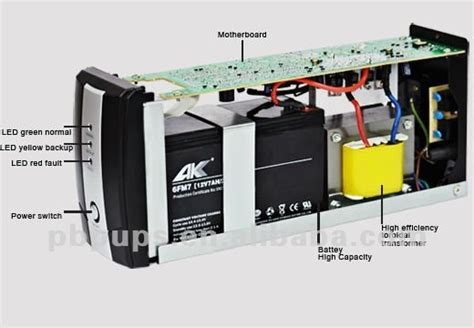 alimentatore ups 12v ups backup power supply with inside battery ups power