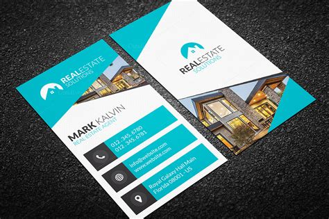 real estate business cards templates real estate business card 47 business card templates on